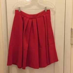 Red Banana Republic A-Line Skirt
